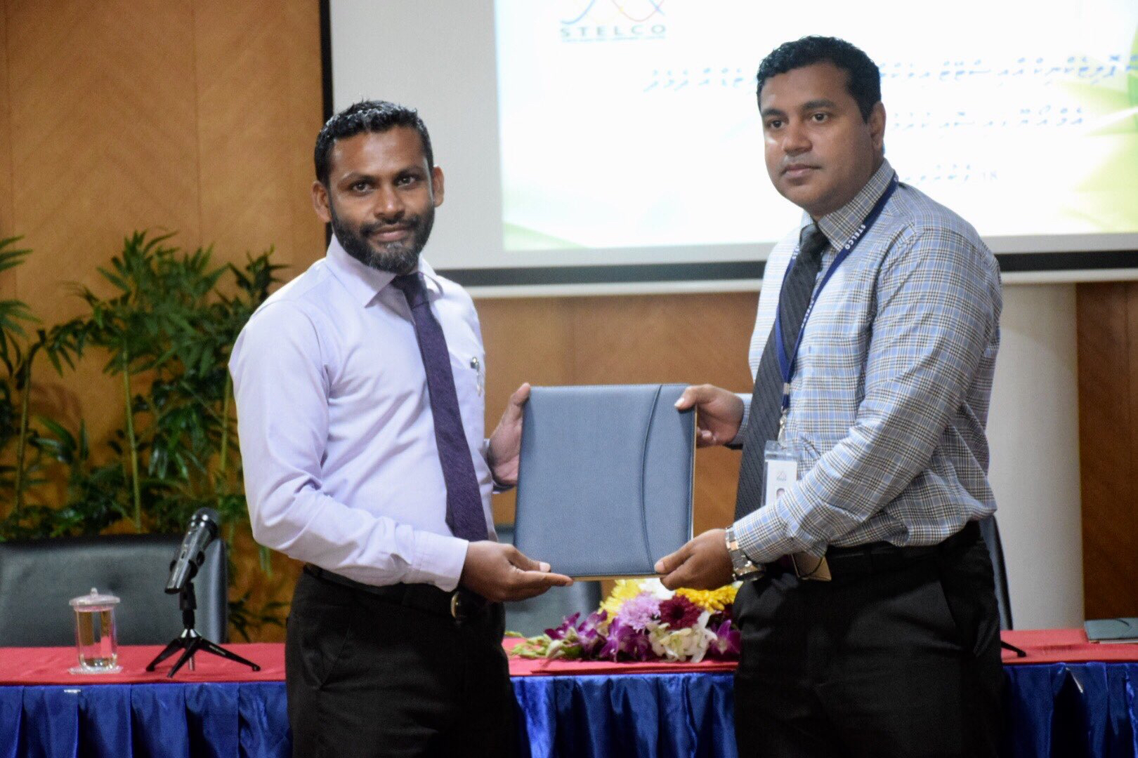 MOU Signing Between STELCO And MALDIVES POLYTECHNIC On Purpose Of Industrial Experience.