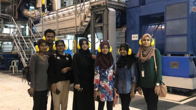 Students Of Faculty Of Engineering, Science And Technology From MNU Visited STELCO. The Field Trip Included An Information Session On The Power Generation Process.