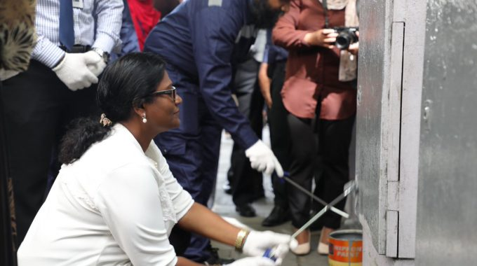 Official Inauguration Of Cleaning STELCO Main Distribution Boxes.