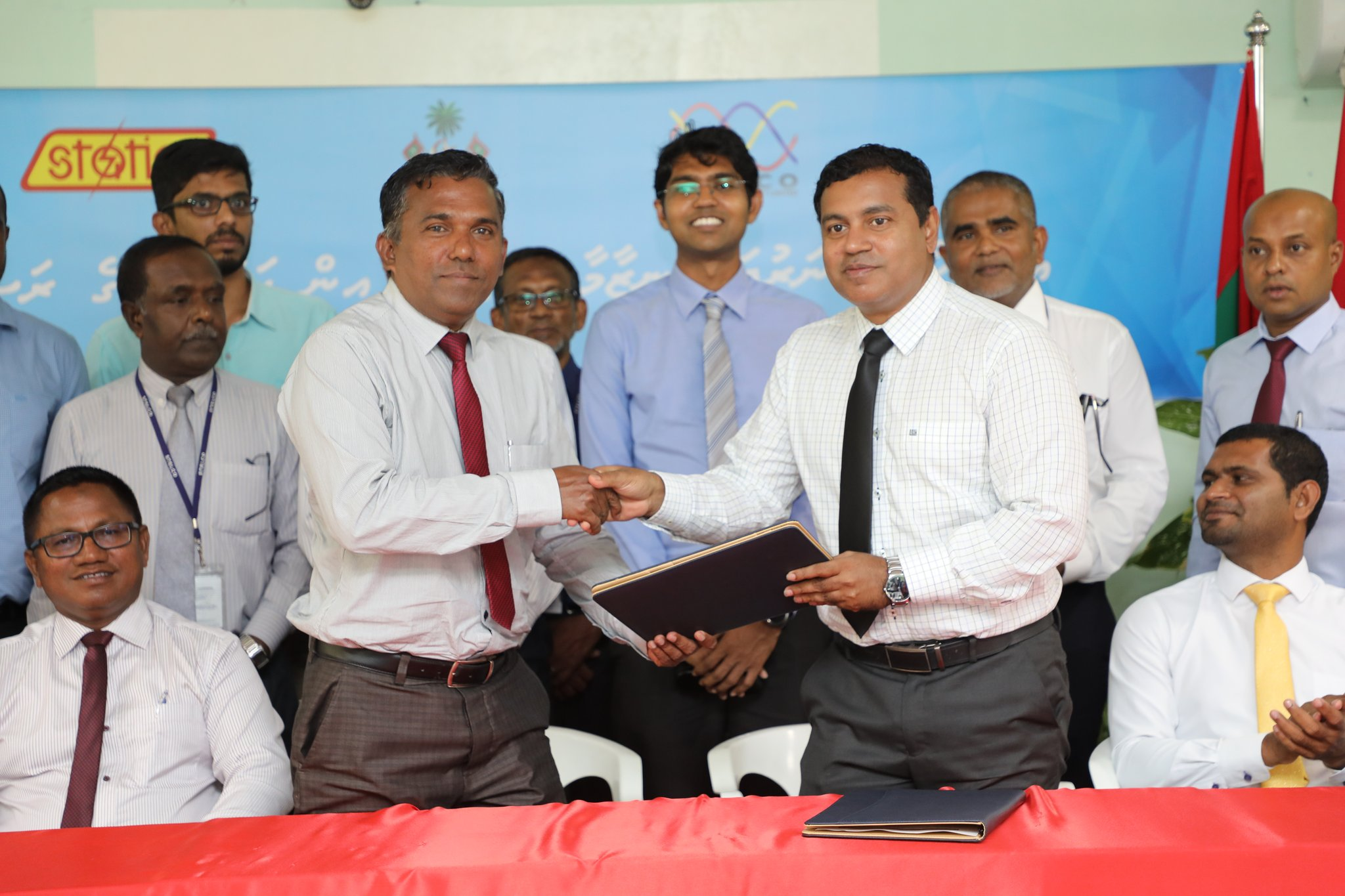 Ukulhas Sewerage System To Be Functioned By STELCO