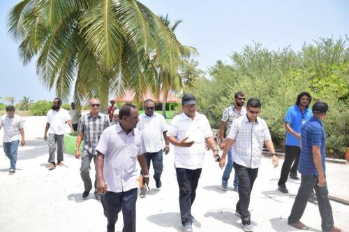 STELCO Board Members visits powerhouses in A.dh Atoll